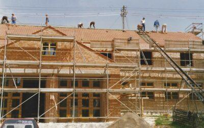 Vor 34 Jahren begann der Bau des Gerätehauses