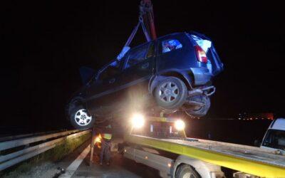 Verkehrsunfall BAB A3 – Person eingeklemmt