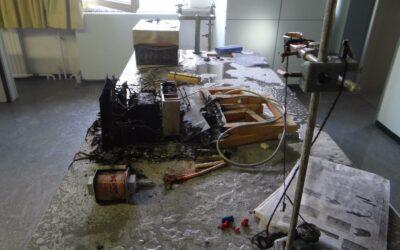 Brand eines Elektrogeräts