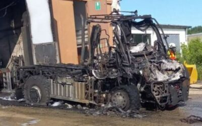 Lastwagenbrand